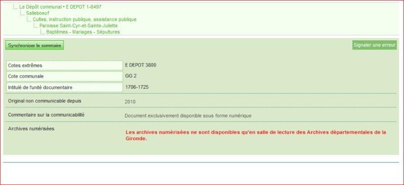 GAEL (Gironde Archives En Ligne) C'est parti! Captur13