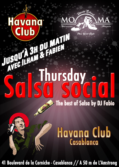 Thursday Salsa Social @ Havana Club - Casablanca Thursd10