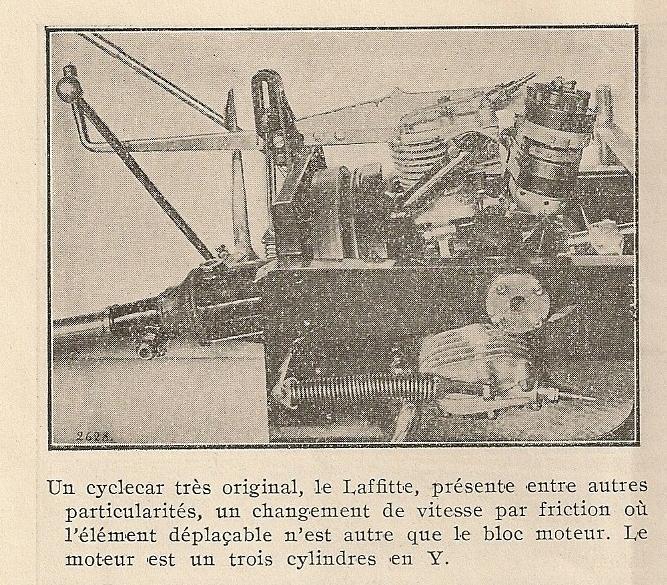 Cyclecar Lafitte Laffit11