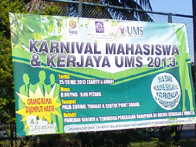 Karnival dan kerjaya mahasiswa UMS 2013 Karniv10
