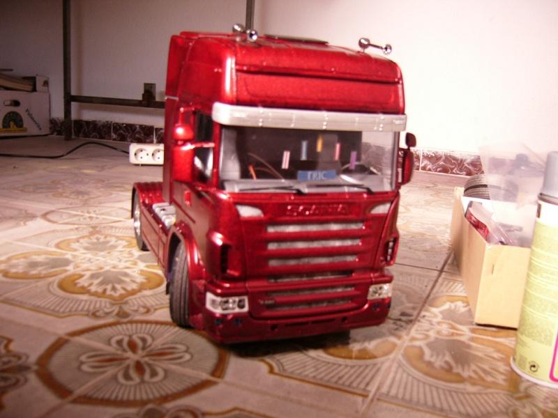 mi scania con bañera Scania12
