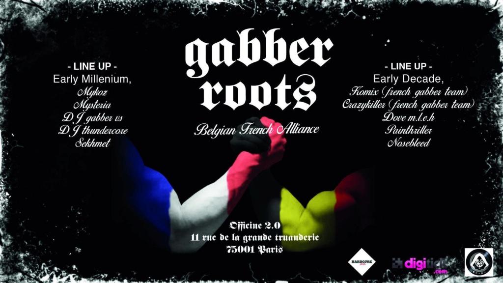 Gabber Roots: Belgian French alliance: 22/11/19 (Paris) Fb10