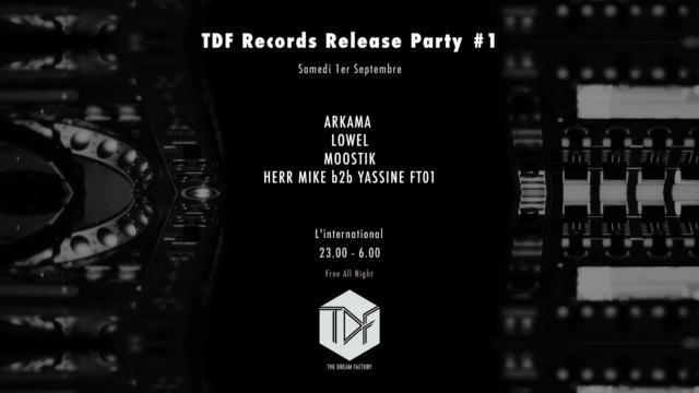 TDF Release Party 1: 01 09 18 - Techno (Paris 11) Releas10