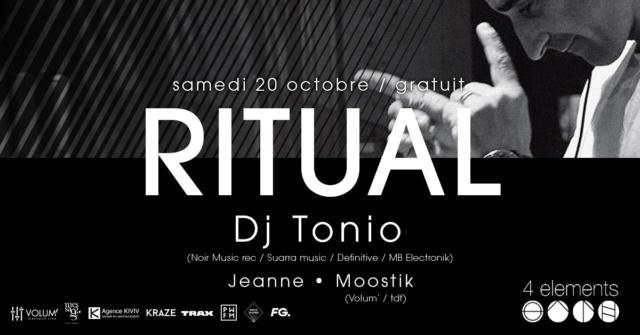 Ritual W/ Tonio: 4 Eléments (Paris 11) - 20/10/18 Ritual10