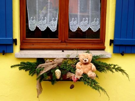 Déco exterieure naturelle pour Noël en alsace Appui-11