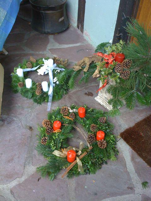 Déco exterieure naturelle pour Noël en alsace Img_0014