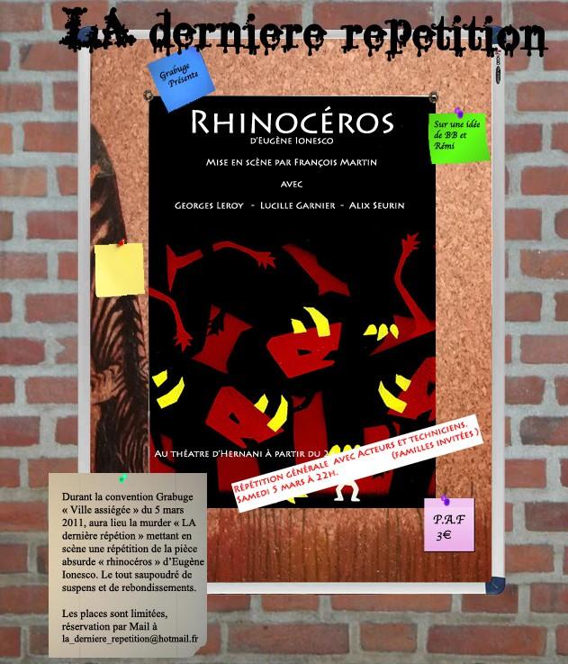 Convention Grabuge - 4 au 6 Mars 2011 - Carcassonne Affich10