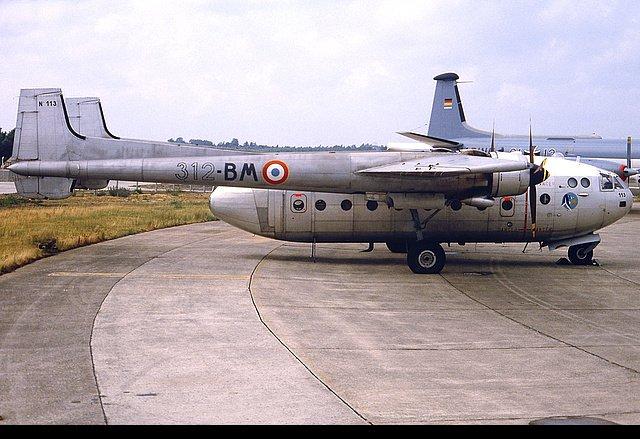 Noratlas n°113 - Mis en service le 20 août 1956 - Fin de service le 18 mai 1987 N113_310
