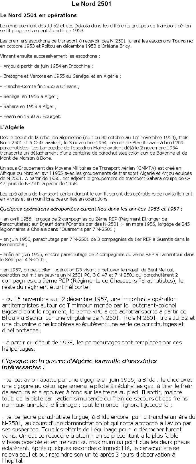 Historique du Nord 2501 par l'Escadron Touraine... Nord_210
