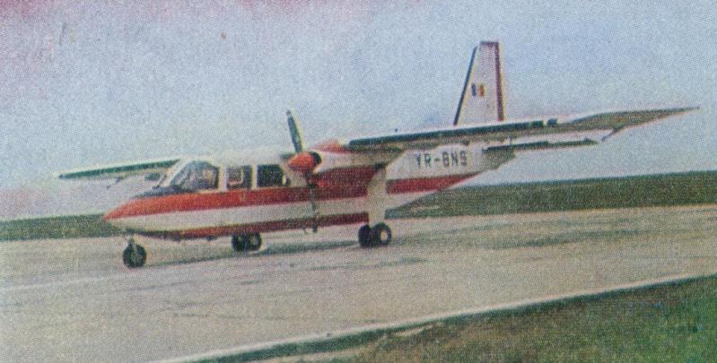 BN-2 Islander YR-BNK Image310