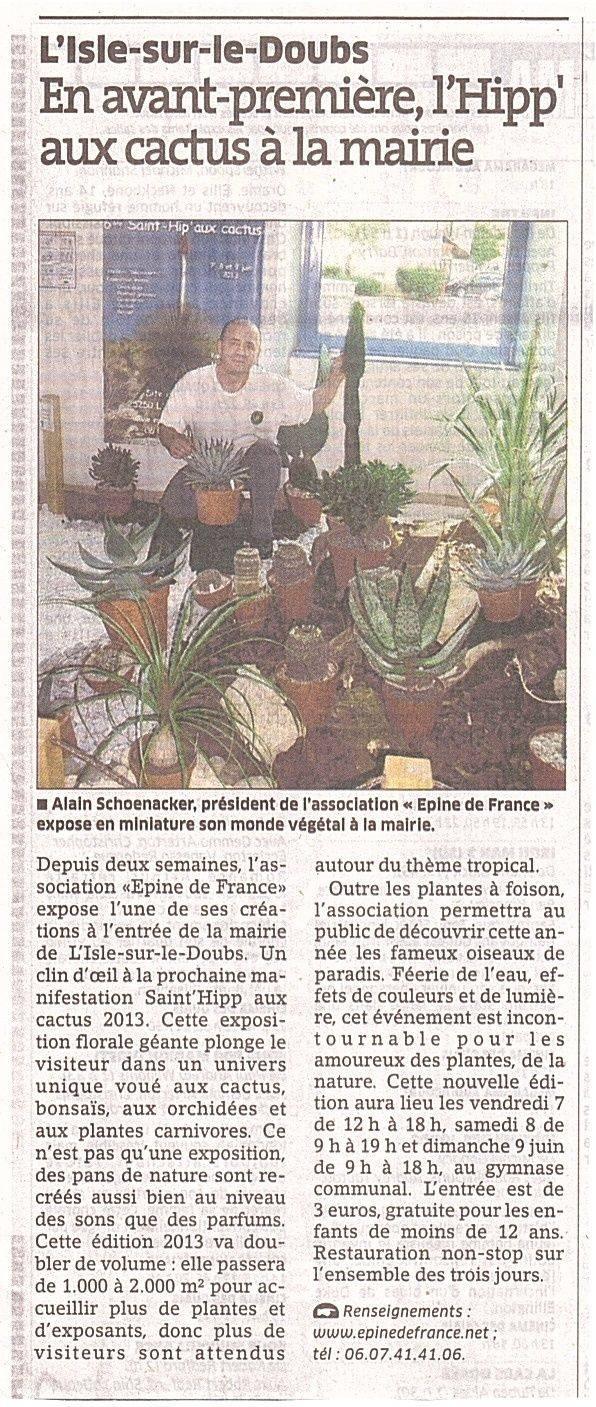2013 : Cap sur les tropiques avec la Saint-Hip'aux cactus Articl10