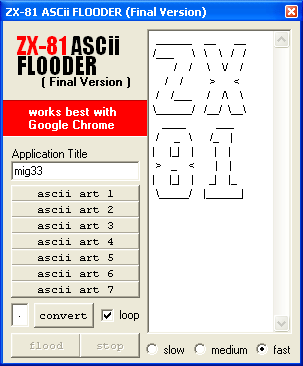 APP FLOODER Asciif10