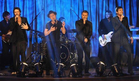 TT dans The Tubridy Tonight Show, RTE1 (dec 2008) Big20018