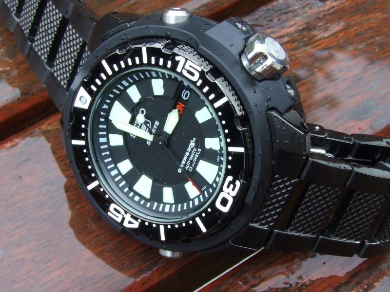 "Seiko 5 SKZ255K1 ""FrankenMonster"" Automatic Diver Black_10"