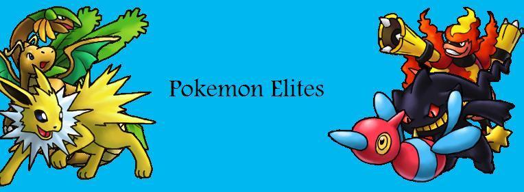 Pokemon Elites