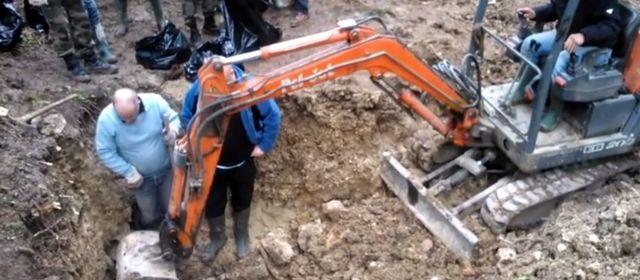 Des corps de Poilus de Verdun découverts Fleury-devant-Douaumont Meuse 28535610