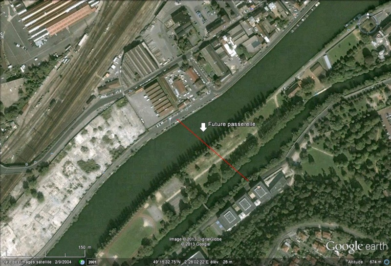 [Enfin visible sur Google Earth] - Future Passerelle de Creil, Oise Creil10