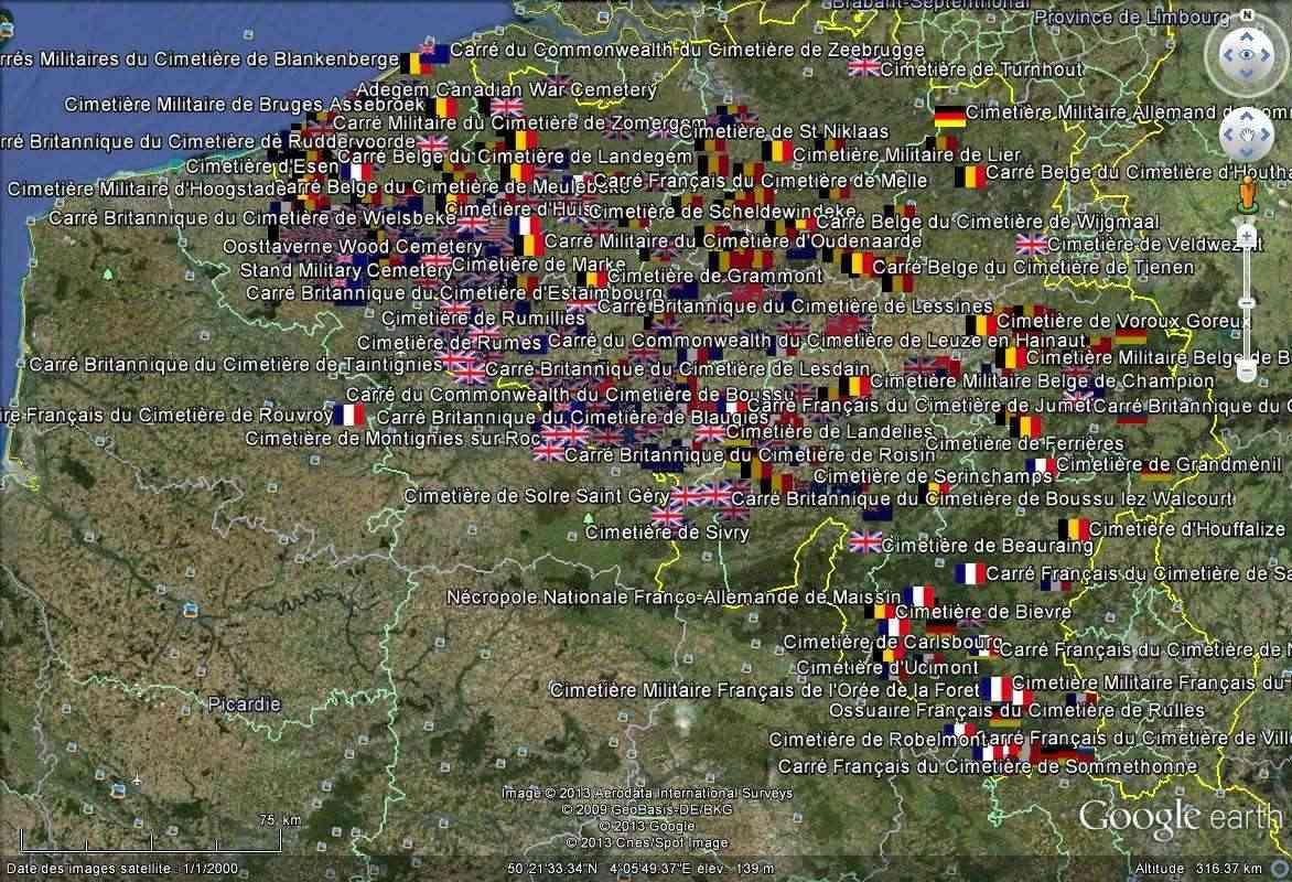 A la découverte des mémoriaux et cimetières militaires - Page 4 Kmz10