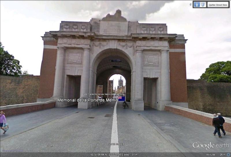 A la découverte des mémoriaux et cimetières militaires - Page 3 Menin110