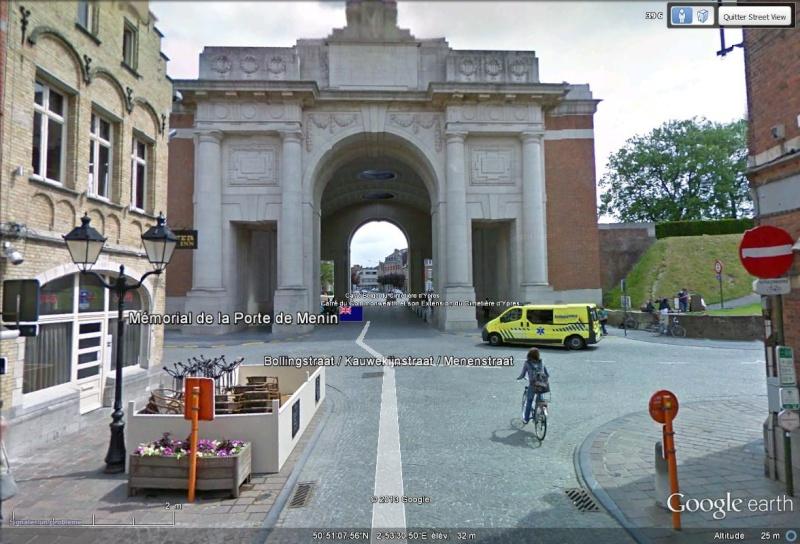 A la découverte des mémoriaux et cimetières militaires - Page 3 Menin_10