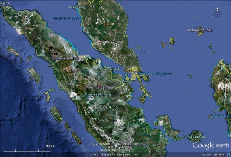 [Indonésie] -  l'Indonésie tente de faire tomber la pluie pour aider les pompiers dépassés Provin10