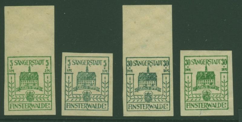 1945 - Deutsche Lokalausgaben nach 1945 Finste10