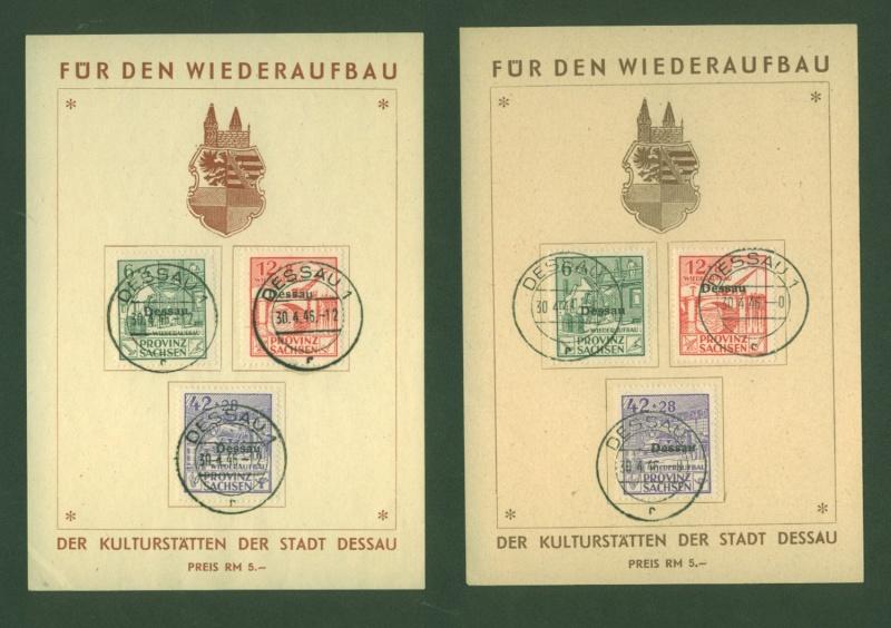 1945 - Deutsche Lokalausgaben nach 1945 Lokala10