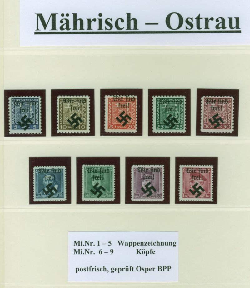 litauen - Deutsche Besetzungsausgaben im II. Weltkrieg Mahris10