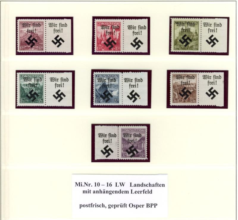 litauen - Deutsche Besetzungsausgaben im II. Weltkrieg Mahris11
