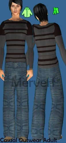 3 Ropas Casuales/Outwear para Hombre adulto Cazhas11
