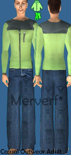 3 Ropas Casuales/Outwear para Hombre adulto Chazha10