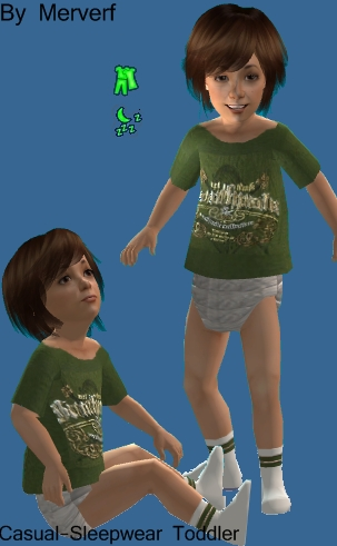 3 Ropas Casuales-Pijama para Infantes Toddle10