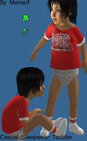 3 Ropas Casuales-Pijama para Infantes Toddle12