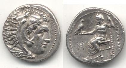 Dracma de Alejandro III Magno, ceca Miletos? Griega15