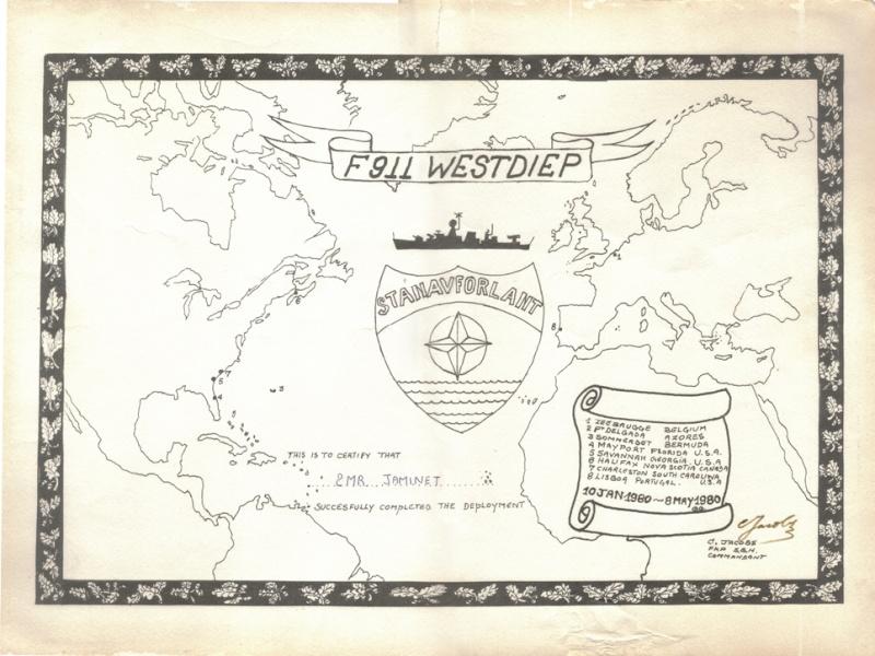 STANAVFORLANT 1980 (le 1er) Carte10