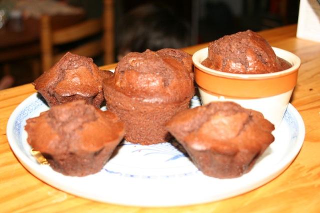 Muffins au chocolat Muffin10