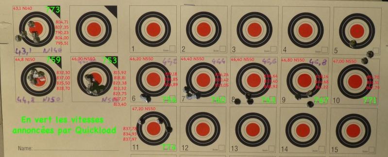 "Tir en trajectoire "" montante "" Test_210"