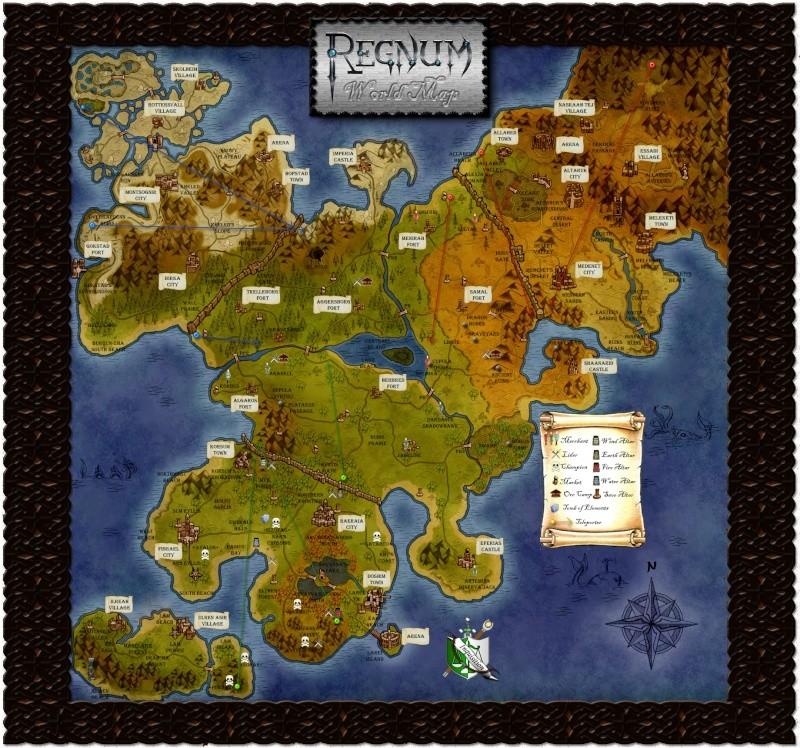 world Maps! Regnum13