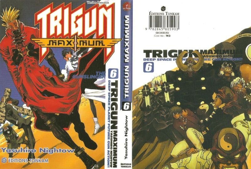 Mangas, BD, Comics et Dessins Animés Trigun11
