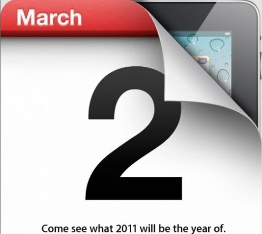L'iPad2 annoncé le 2 mars dispo le 25 mars Captur23
