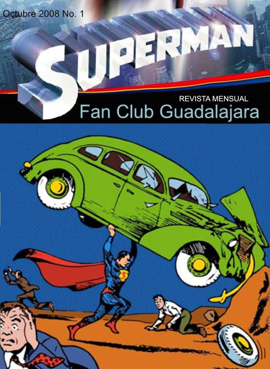 Revista mensual Superman Fan Club Guadalajara Mexico 001_re10
