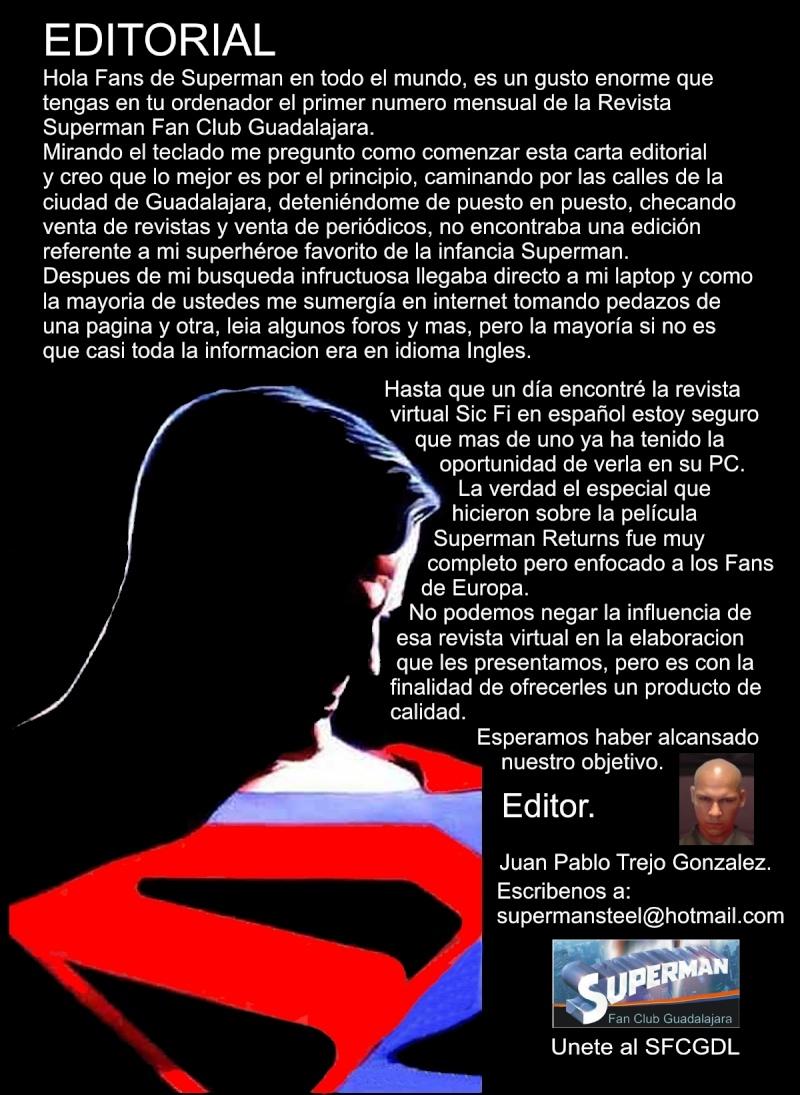 Revista mensual Superman Fan Club Guadalajara Mexico 003_re10
