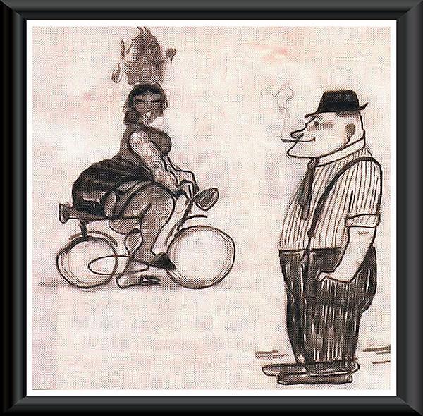 """""""La bicicletta nell'Arte"""" 11310"""