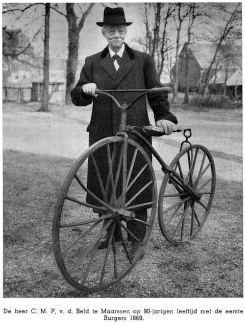 """""""La bicicletta nel tempo"""" 12410"""
