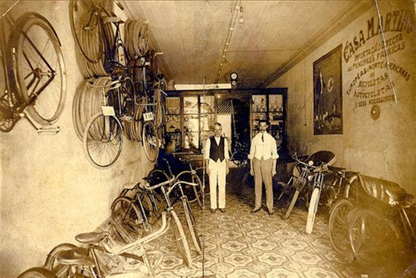 """""""La bicicletta nel tempo"""" 192410"""