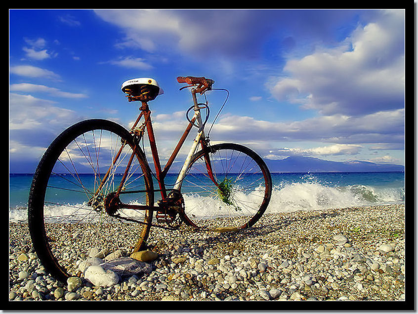 """NiMo Compositions Bicycle Photo Art 1"" 717"