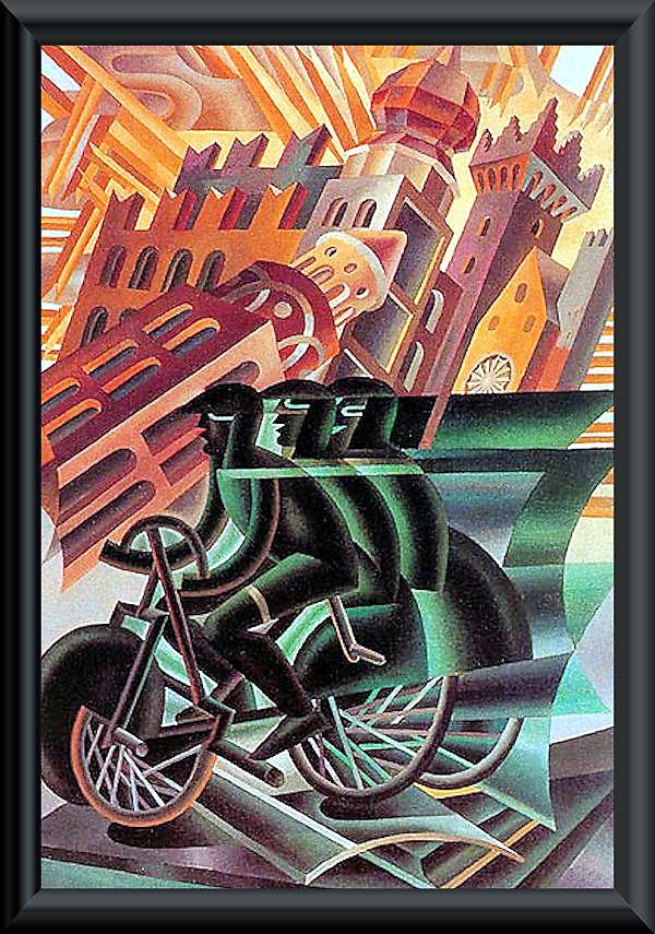 """""""La bicicletta nell'Arte"""" Aa12"""