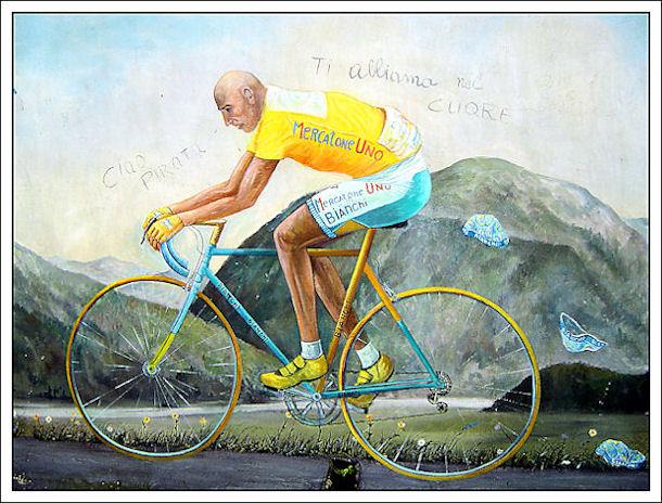 """""""La bicicletta nell'Arte"""" Pantan12"""