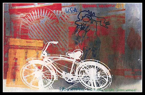 """""""La bicicletta nell'Arte"""" Rausch11"""