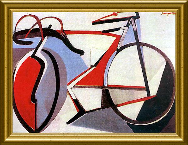"""""""La bicicletta nell'Arte"""" Scarpi10"""
